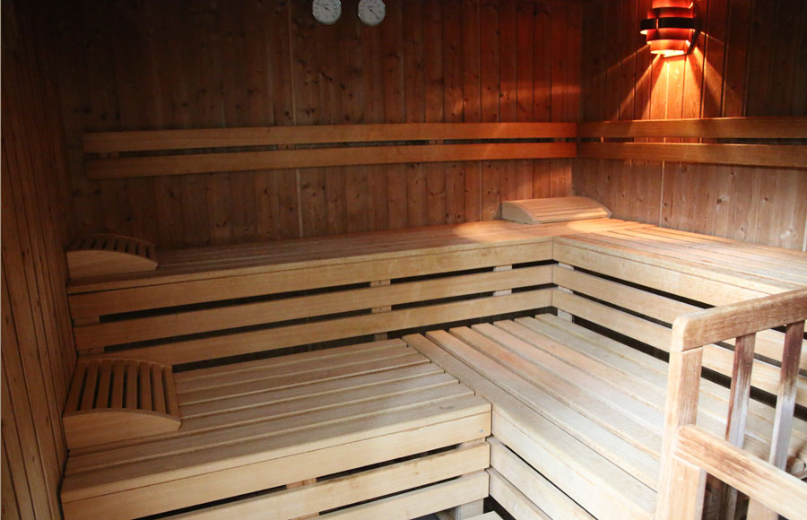 Sauna Damen gross